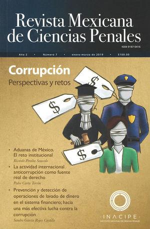 REVISTA MEXICANA DE CIENCIAS PENALES NÚM. 7 (ENERO-MARZO DE 2019)