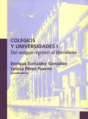COLEGIOS Y UNIVERSIDADES I
