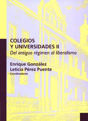 COLEGIOS Y UNIVERSIDADES II