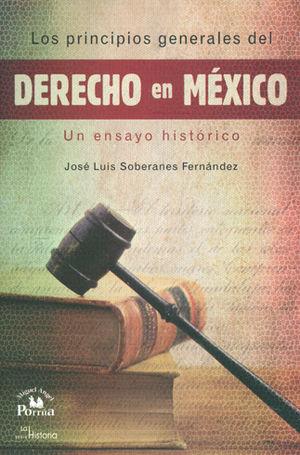 PRINCIPIOS GENERALES DEL DERECHO EN MEXICO, LOS