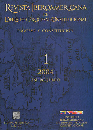 REVISTA IBEROAMERICANA DE DERECHO PROCESAL CONSTITUCIONAL