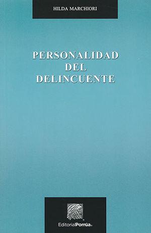 PERSONALIDAD DEL DELINCUENTE - 7.ª ED.