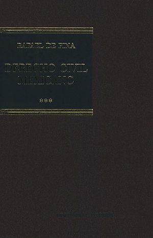 DERECHO CIVIL MEXICANO III (16 EDICIÓN)