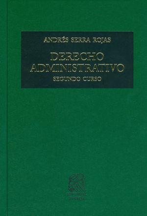 DERECHO ADMINISTRATIVO SEGUNDO CURSO (26 EDICIÓN)