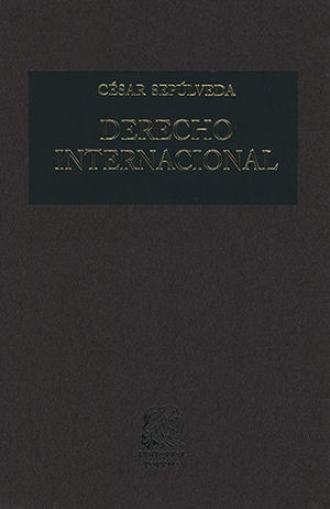 DERECHO INTERNACIONAL (26 EDICIÓN)