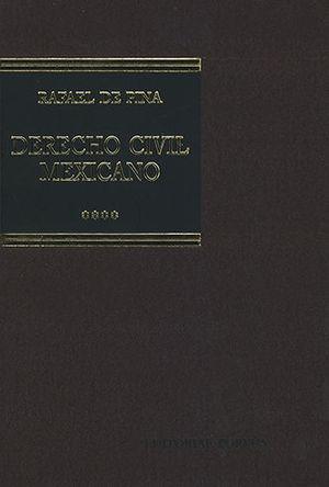 DERECHO CIVIL MEXICANO IV (14 EDICIÓN)