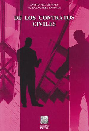 DE LOS CONTRATOS CIVILES - 2ª ED.