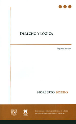 DERECHO Y LÓGICA SEGUNDA EDICIÓN