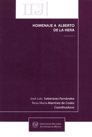 HOMENAJE A ALBERTO DE LA HERA