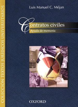 CONTRATOS CIVILES - 1.ª ED. 2004, 17.ª REIMP. 2020