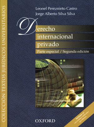 DERECHO INTERNACIONAL PRIVADO. PARTE ESPECIAL. SEGUNDA ED.