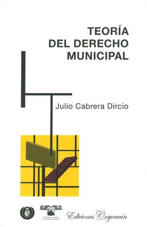 TEORÍA DEL DERECHO MUNICIPAL