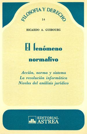 FENOMENO NORMATIVO. EL