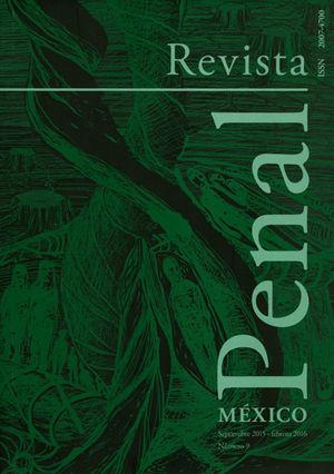 REVISTA PENAL MÉXICO NUM. 09 SEPTIEMBRE 2015 - FEBRERO 2016
