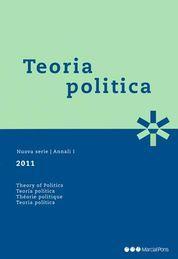 TEORIA POLITICA 2011