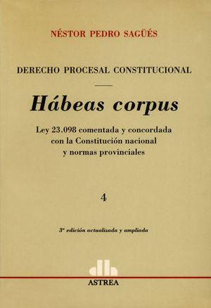 DERECHO PROCESAL CONSTITUCIONAL TOMO 4