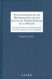 INTANGIBILIDAD DE LAS RETRIBUCIONES DE LOS JUECES DEL PODER JUDICIAL DE LA NACIÓN
