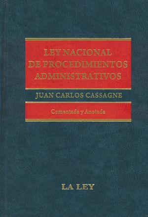LEY NACIONAL DE PROCEDIMIENTOS ADMINISTRATIVOS
