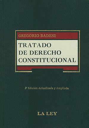 TRATADO DE DERECHO CONSTITUCIONAL 3 TOMOS