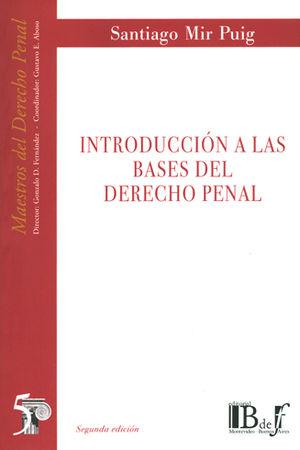 INTRODUCCIÓN A LAS BASES DEL DERECHO PENAL. (NÚMERO 5)