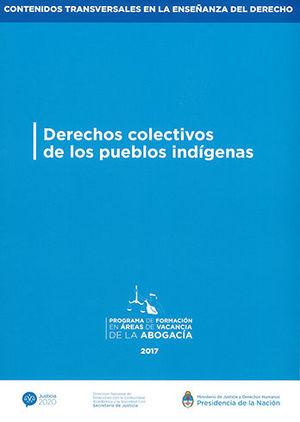DERECHOS COLECTIVOS DE LOS PUEBLOS INDÍGENAS
