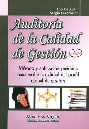 AUDITORIA DE LA CALIDAD DE GESTIÓN