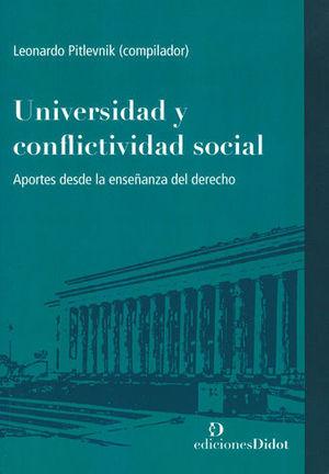 UNIVERSIDAD Y CONFLICTIVIDAD SOCIAL