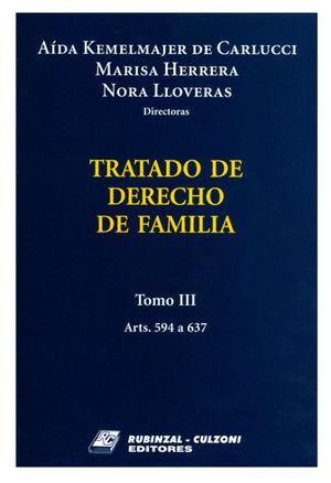 TRATADO DE DERECHO DE FAMILIA TOMO III