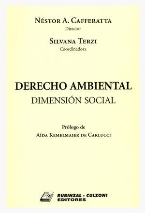 DERECHO AMBIENTAL - DIMENSIÓN SOCIAL