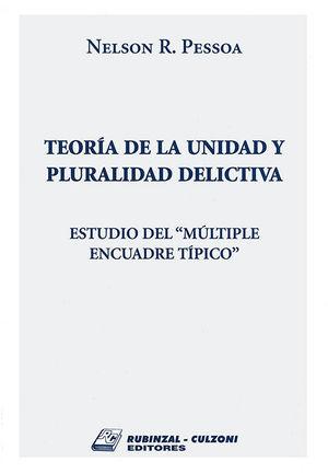 TEORIA DE LA UNIDAD Y PLURALIDAD DELICTIVA