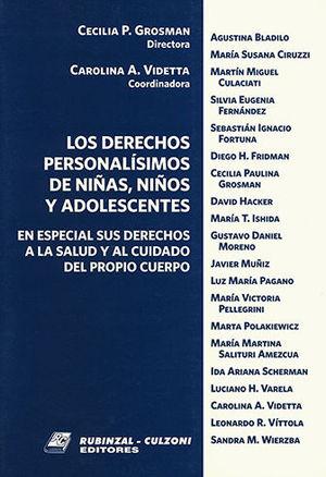 DERECHOS PERSONALISIMOS DE NIÑAS, NIÑOS Y ADOLESCENTES, LOS (OBRA COMPLETA 2 TOMOS)