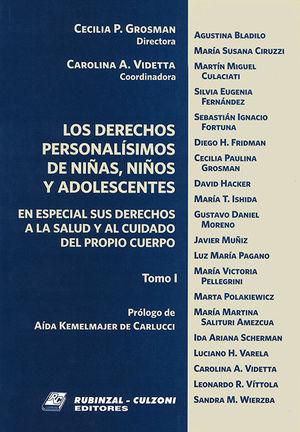 DERECHOS PERSONALISIMOS, LOS (TOMO I)