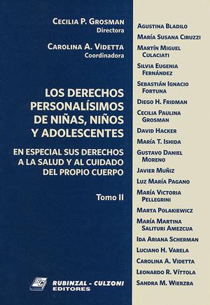 DERECHOS PERSONALISIMOS, LOS (TOMO II)