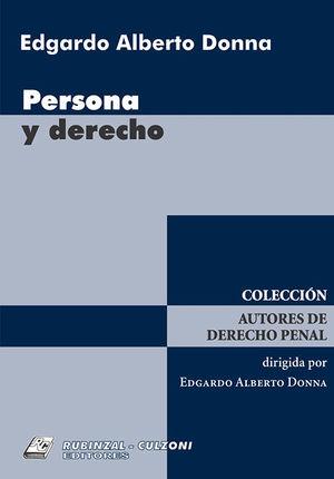 PERSONA Y DERECHO