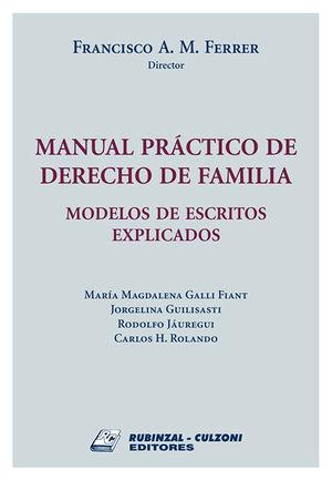 MANUAL PRACTICO DE DERECHO DE FAMILIA