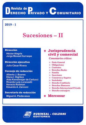 REVISTA DE DERECHO PRIVADO Y COMUNITARIO. 2019 - 1