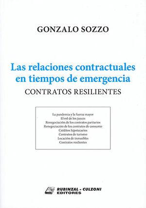 RELACIONES CONTRACTUALES EN TIEMPOS DE EMERGENCIA