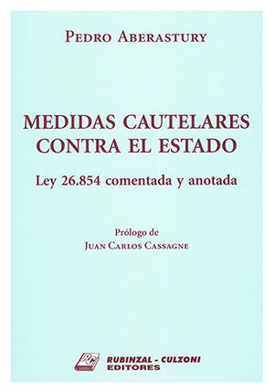 MEDIDAS CAUTELARES CONTRA EL ESTADO