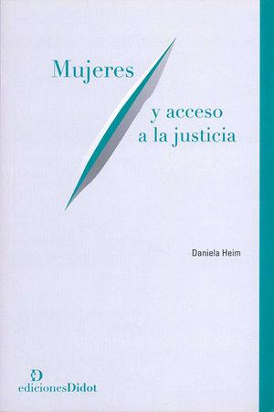 MUJERES Y ACCESOS A LA JUSTICIA