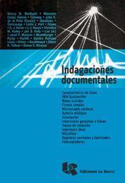 INDAGACIONES DOCUMENTALES