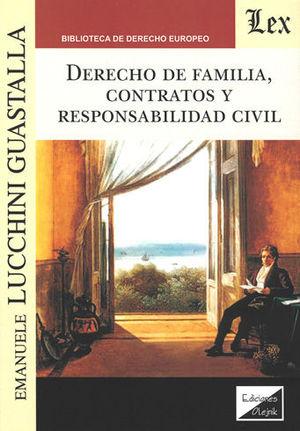 DERECHO DE FAMILIA, CONTRATOS Y RESPONSABILIDAD CIVIL