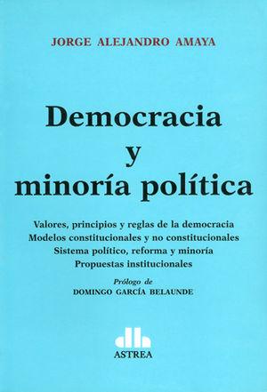 DEMOCRACIA Y MINORÍA POLÍTICA
