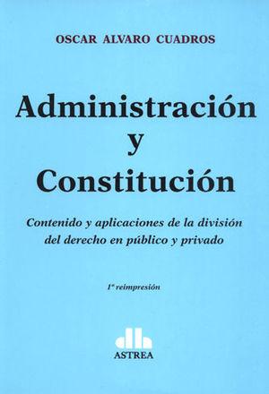 ADMINISTRACIÓN Y CONSTITUCIÓN