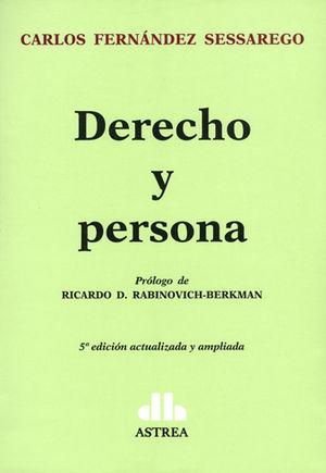 DERECHO Y PERSONA