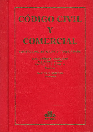 CÓDIGO CIVIL Y COMERCIAL 3 TOMOS