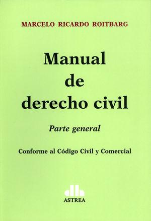 MANUAL DE DERECHO CIVIL PARTE GENERAL