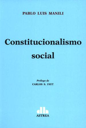 CONSTITUCIONALISMO SOCIAL