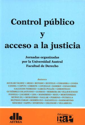 CONTROL PÚBLICO Y ACCESO A LA JUSTICIA 2 TOMOS