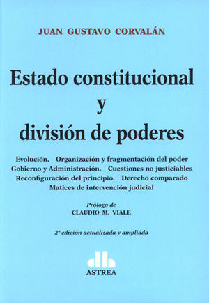 ESTADO CONSTITUCIONAL Y DIVISION DE PODERES