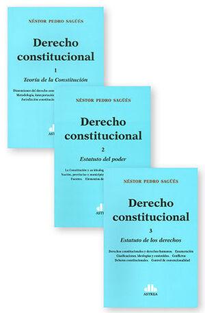 DERECHO CONSTITUCIONAL (3 TOMOS)
